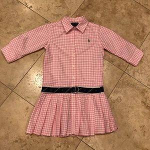 Ralph Lauren Dresses - RALPH LAUREN | Girl's Gingham Shirt Dress